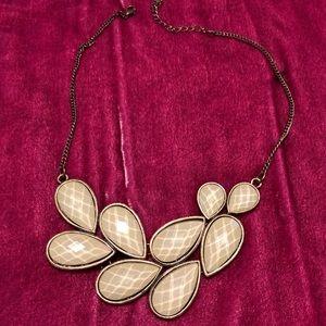 World Market light mint colored necklace